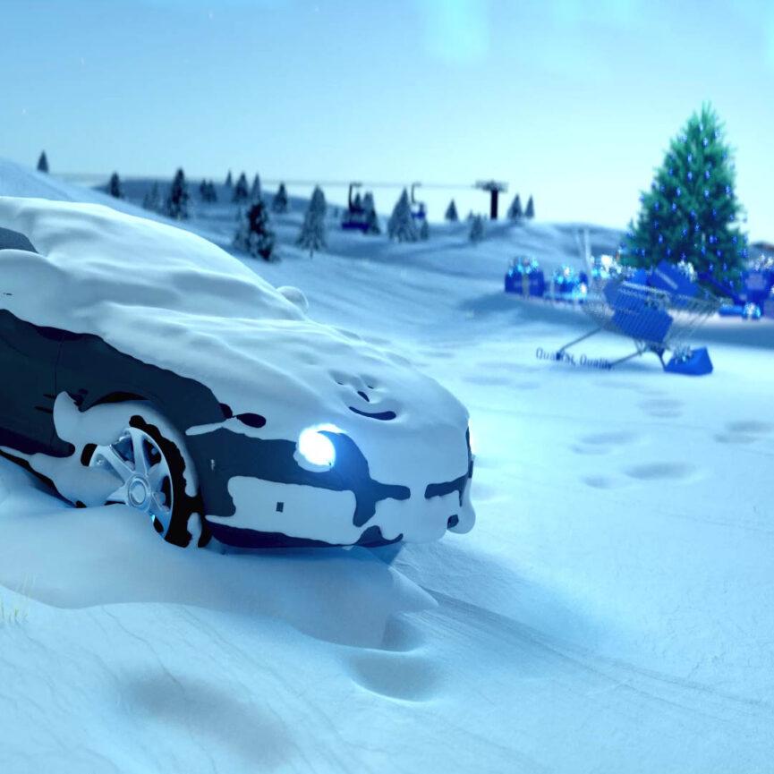 TÜV Süd 3D Animation Styleframe Automotive