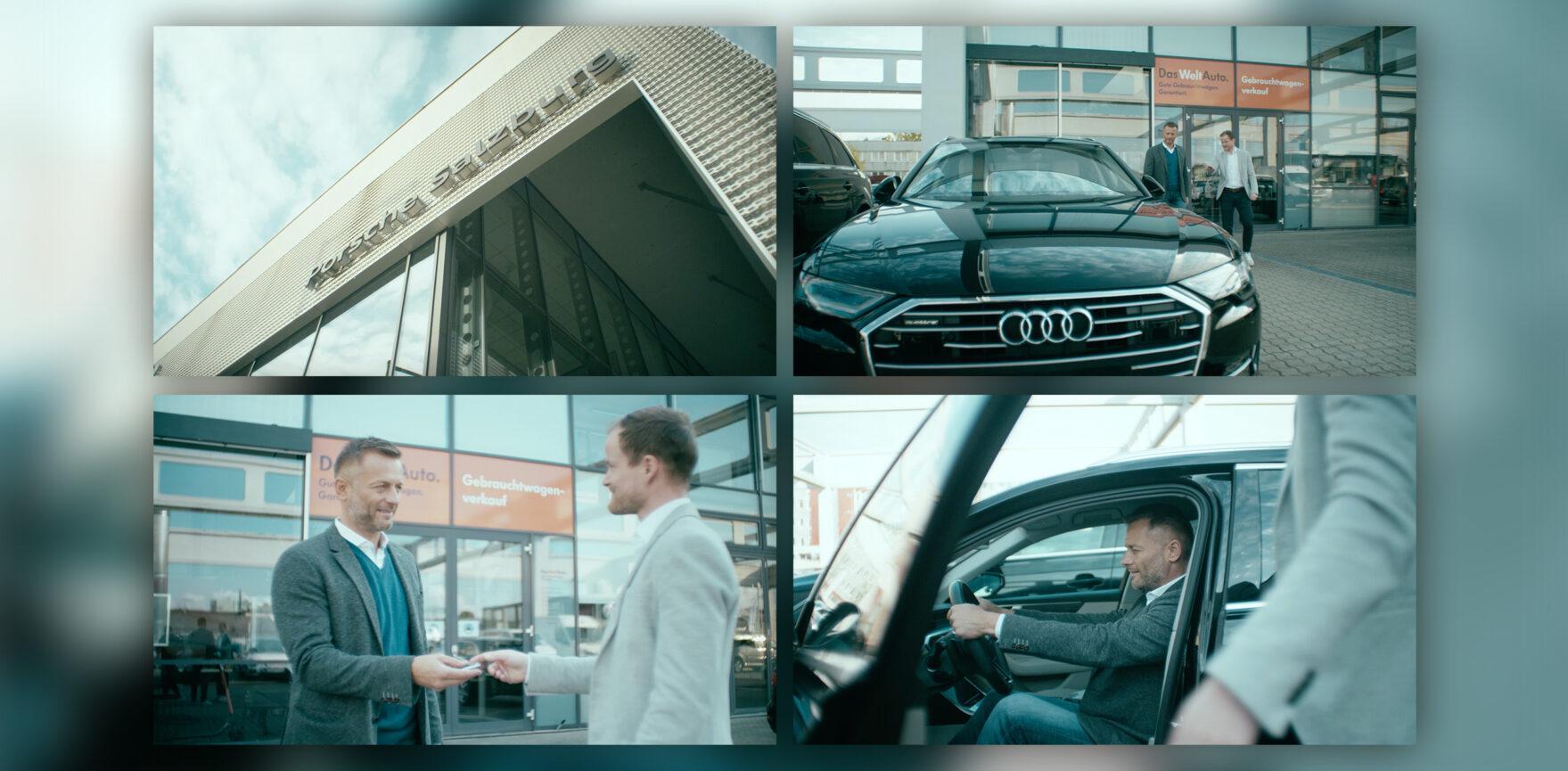 Porsche Bank Shop Autouebergabe