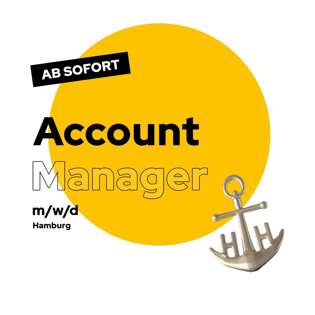 Account Manager Stellenausschreibung Hamburg