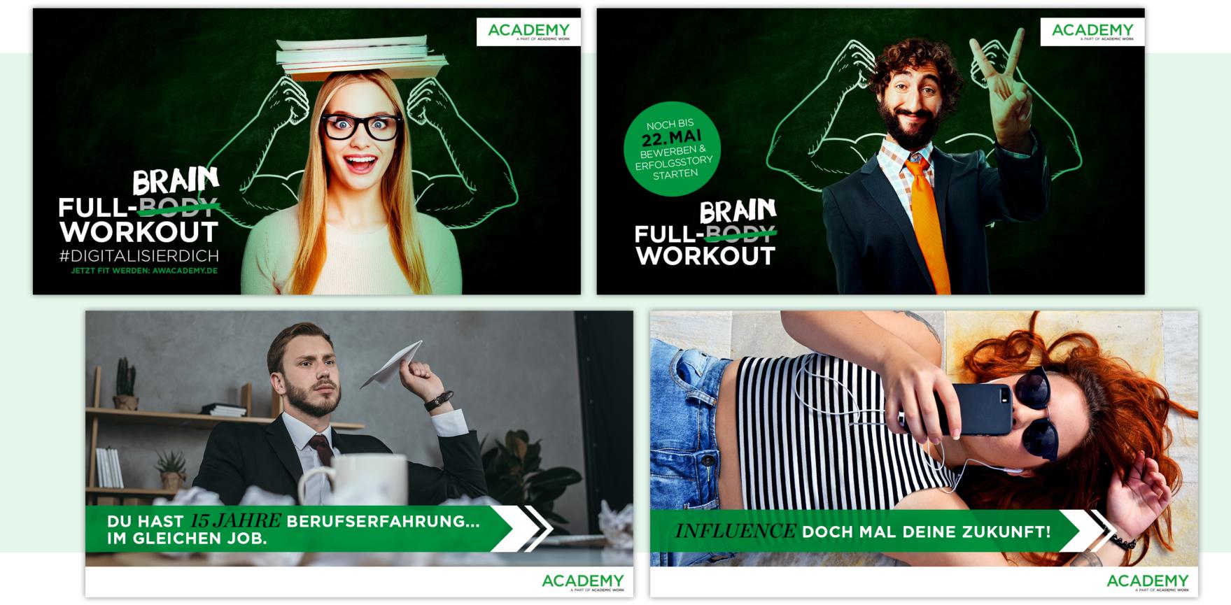 Academy Facebook Native Advertising