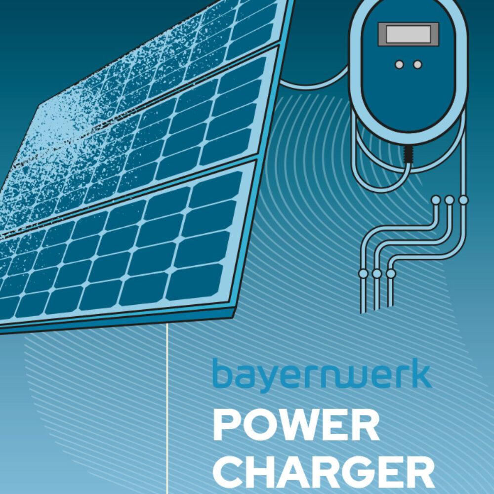 Bayernwerk AG Illustration Leitbild Power Charger
