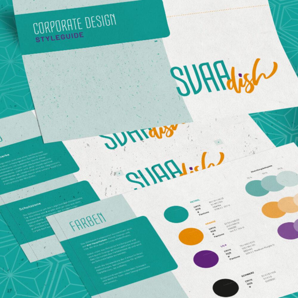SVAAdish Branding Corporate Design Styleguide