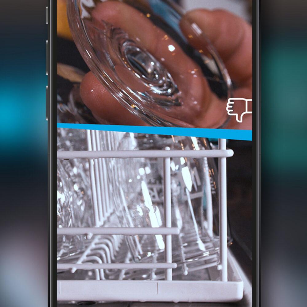 Winterhalter Social Media Clips Smartphone mit Instagram Story