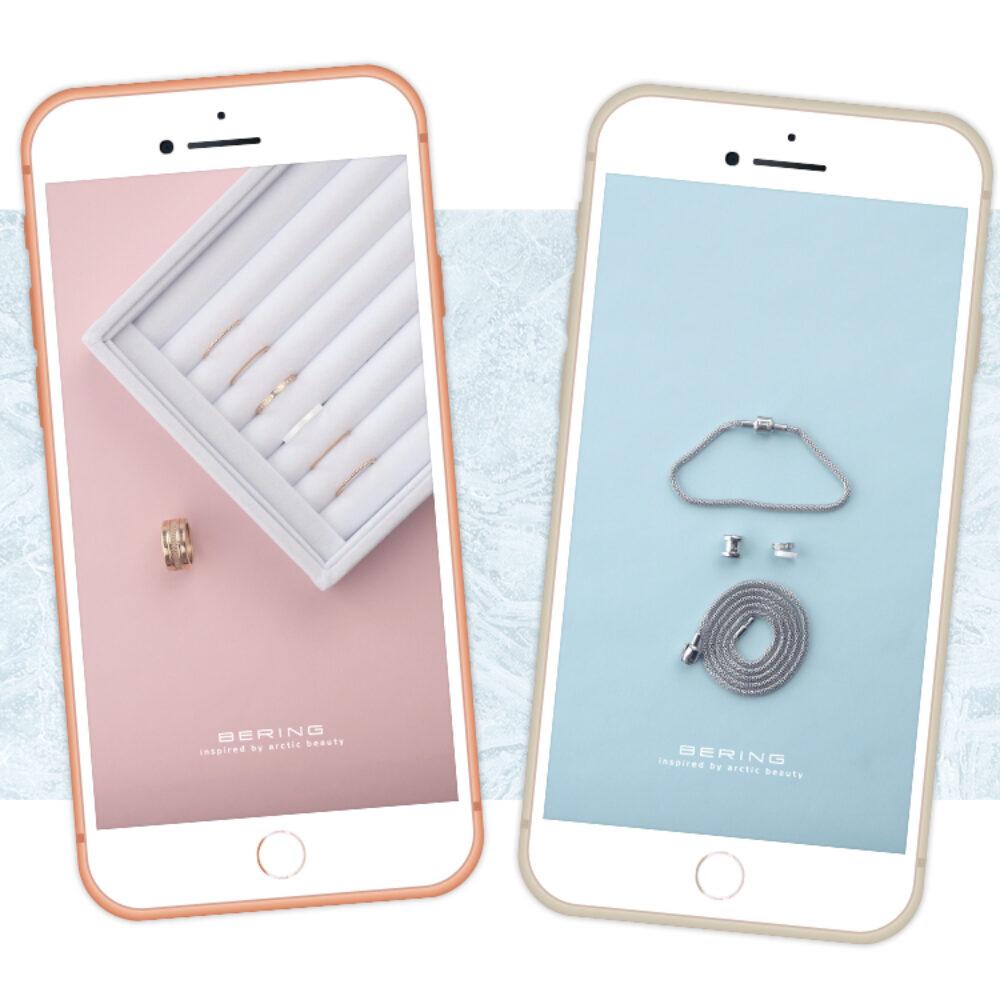 Bering Erklaervideo Charms und Ringe auf iPhone im InstaStory Format