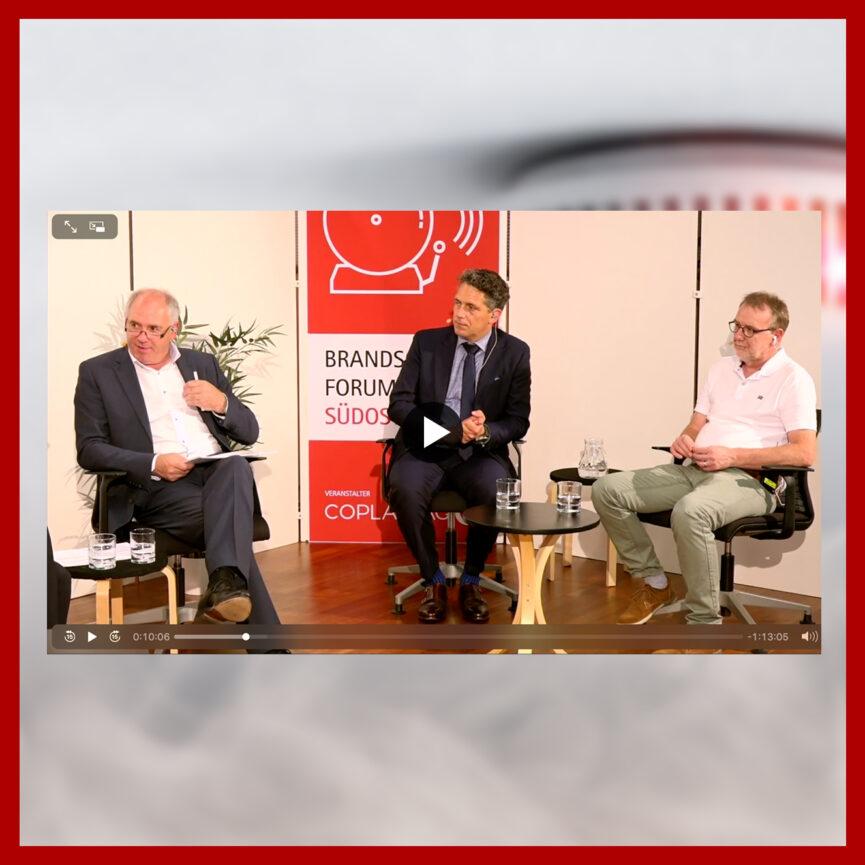 Coplan AG Live-Stream Digitales Brandschutzforum Suedostbayern Player