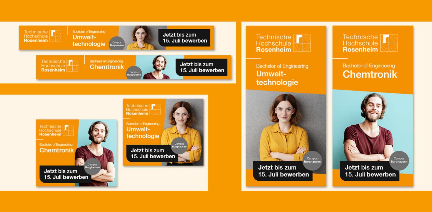 Campus Burghausen Digital Paid Support-Displayanzeigen