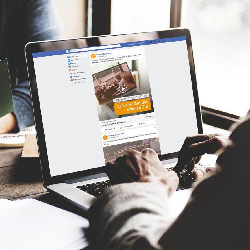 Campus Burghausen Digital Paid Support-Facebook Ads