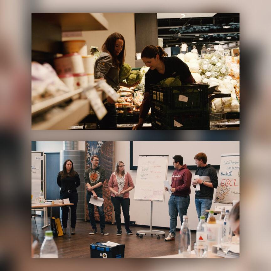 EDEKA Juniorengruppe e.V. Imagefilm Vernetzung Theorie & Praxis
