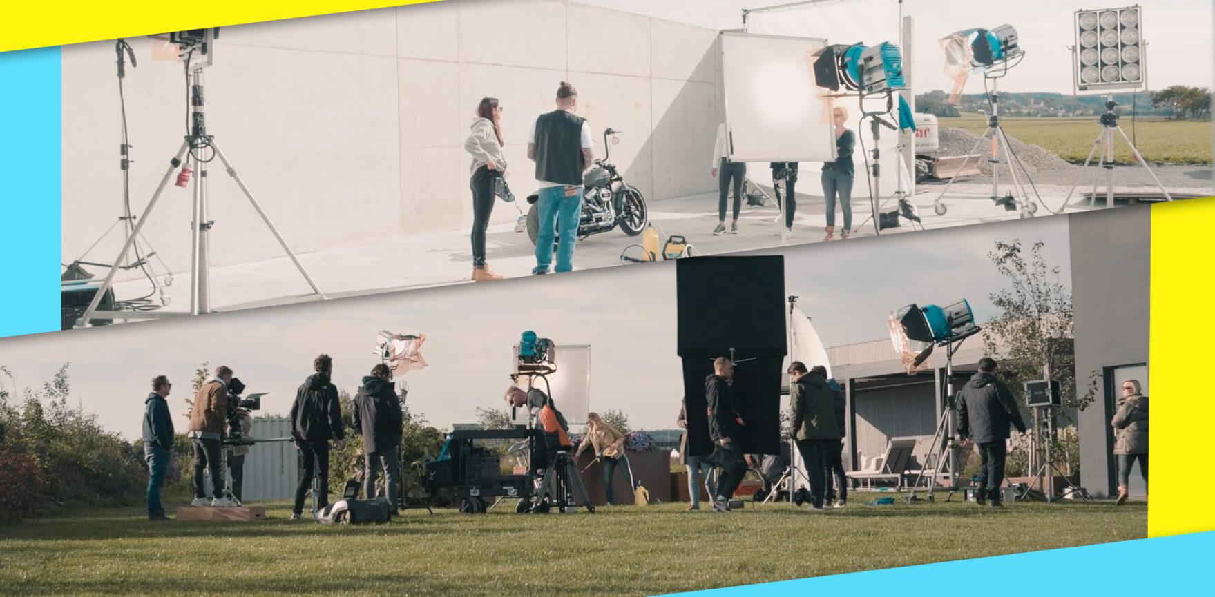 GLORIA MultiJet TVC Dreharbeiten Behind the Scenes