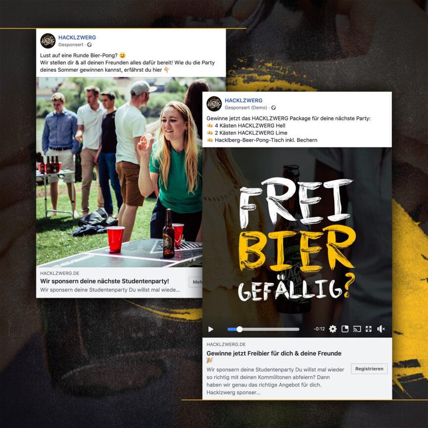 Brauerei Hacklzwerg Social Media Kampagne Facebook