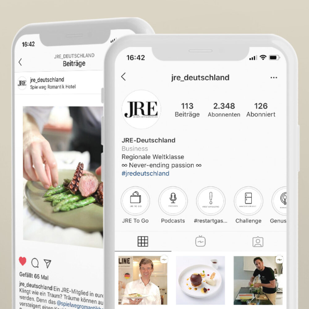 JRE Instagram iPhone Feed und Posting