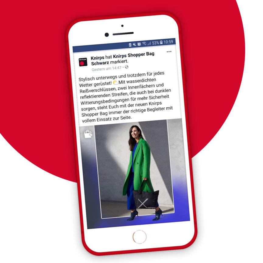 Vorschau Knirps Social Media Posting Facebook