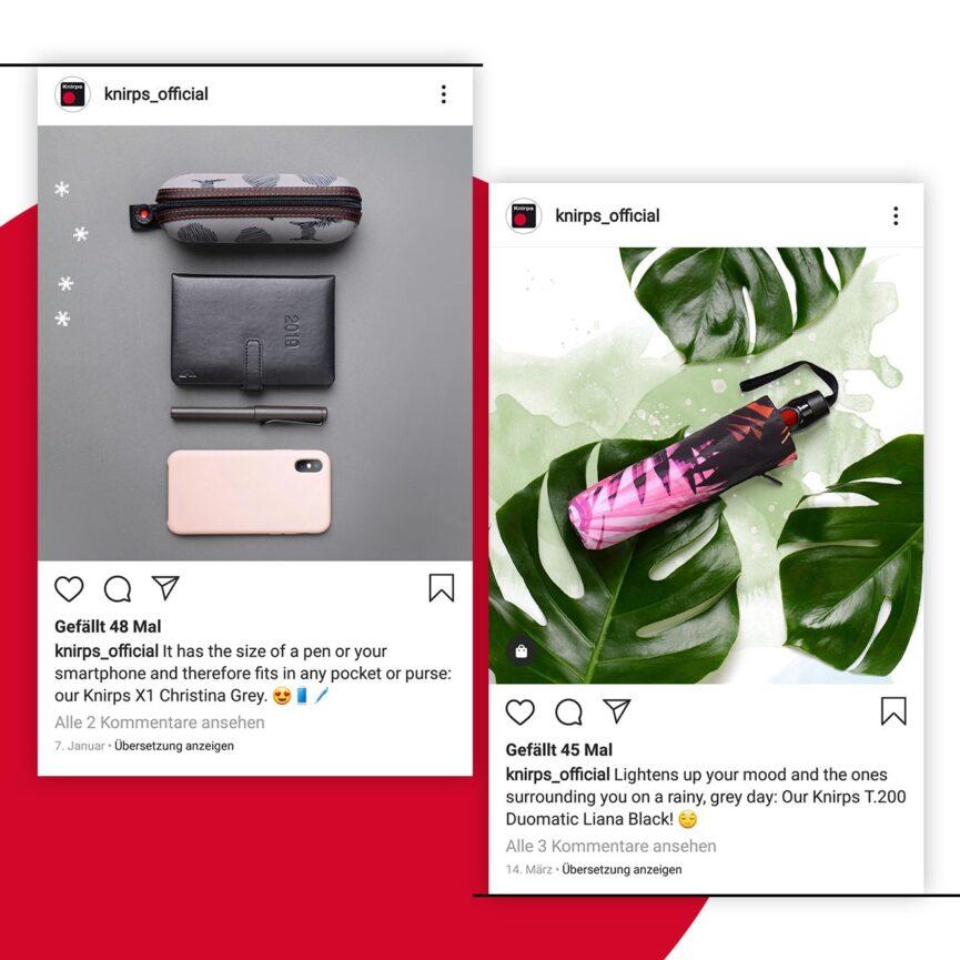 Seamless Grid Knirps Instagram Detail-Posts
