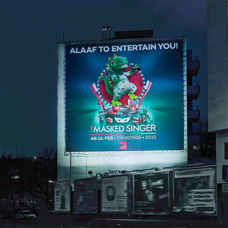The Masked Singer Plakat Dino