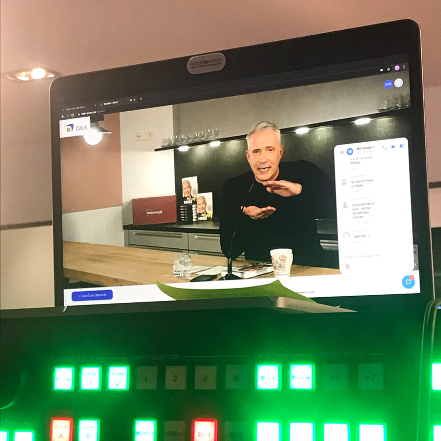 Posthotel Alexander Herrmann Live Stream Speaker und Soundkanäle