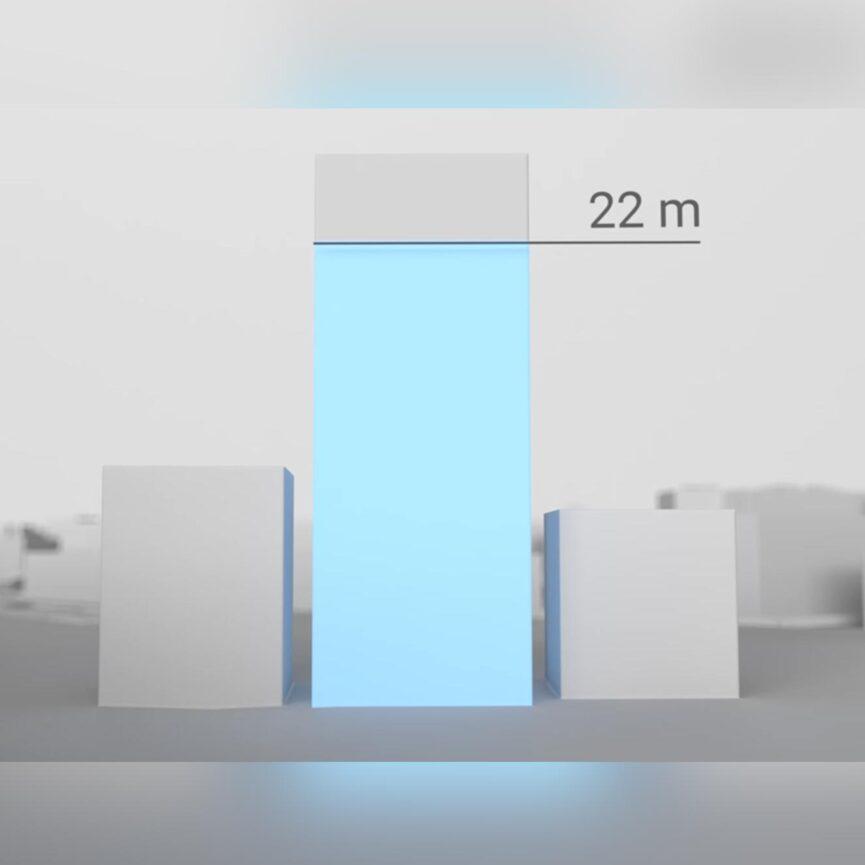Landeshauptstadt München Erklärvideo Hochhausstudie Animation Hochhaus