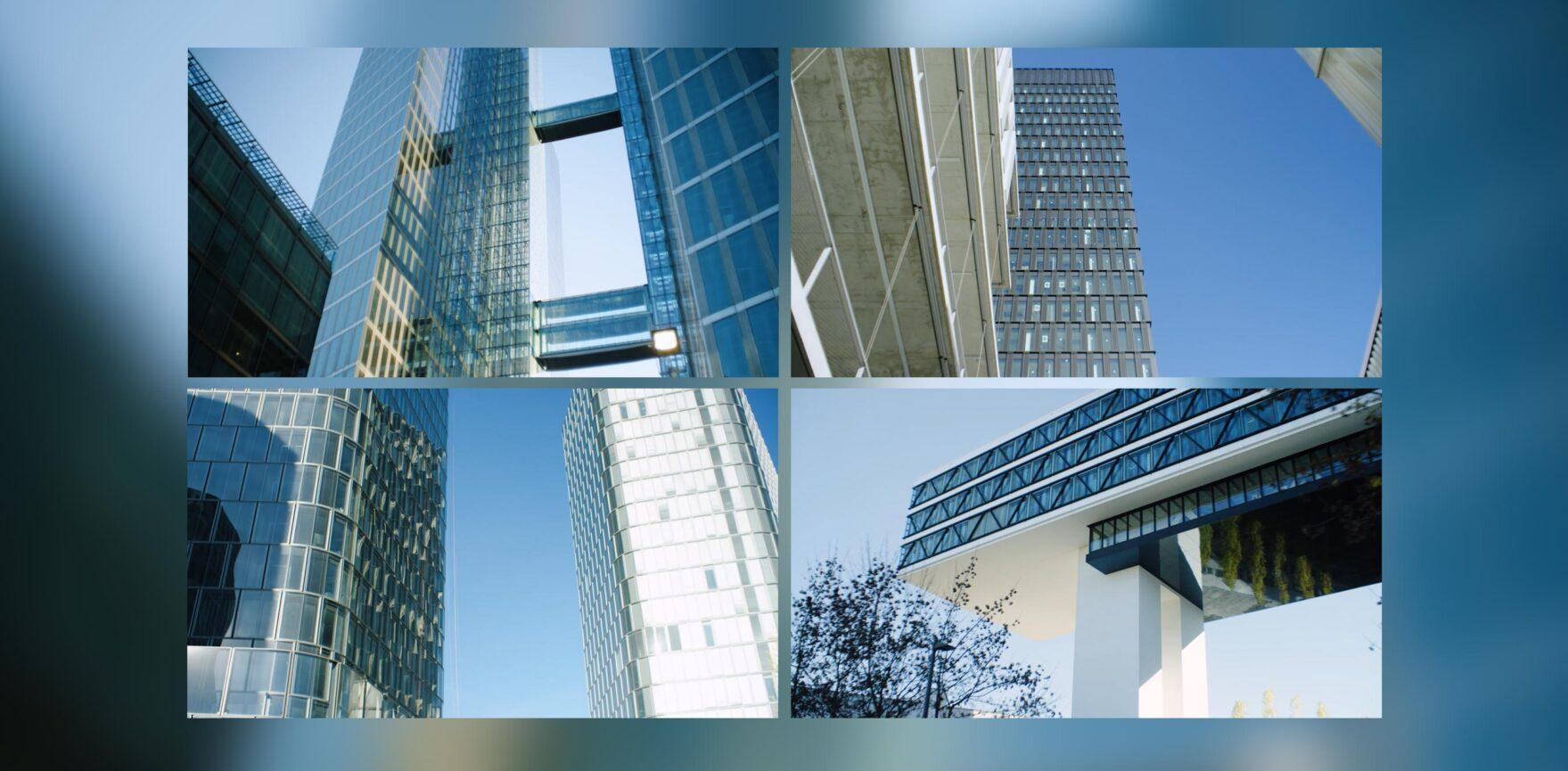 Landeshauptstadt München Erklärvideo Hochhausstudie Stills Gebäude Video