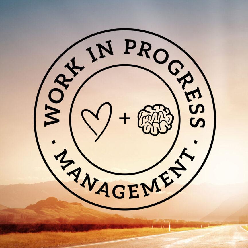 WIP Management Logo auf Home WordPress Website