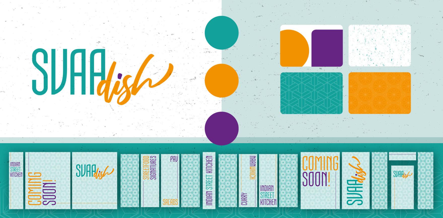 SVAAdish Branding Corporate Design Logo Farben Fensterbeklebung