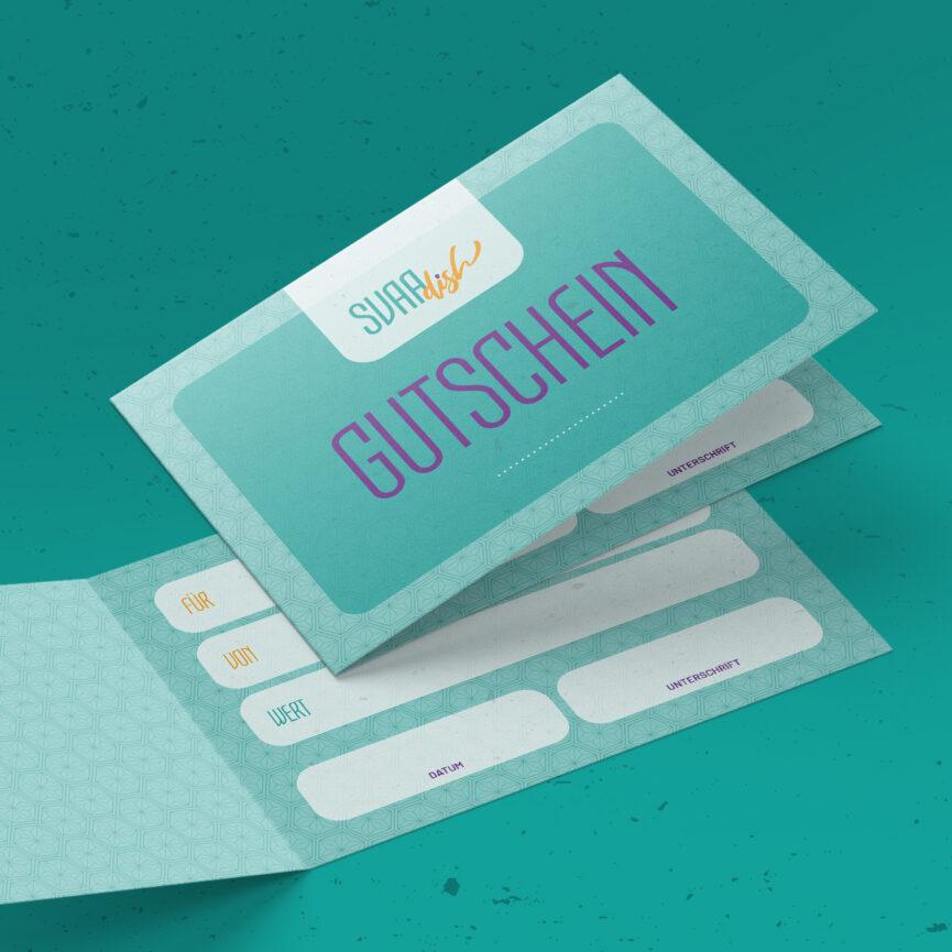 SVAAdish Print-Werbemittel Werbemittel Gutschein