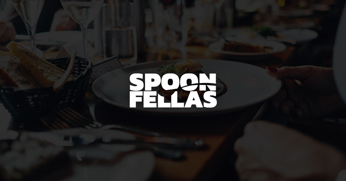 Spoon Fellas Corporate Design Logo auf Landingpage
