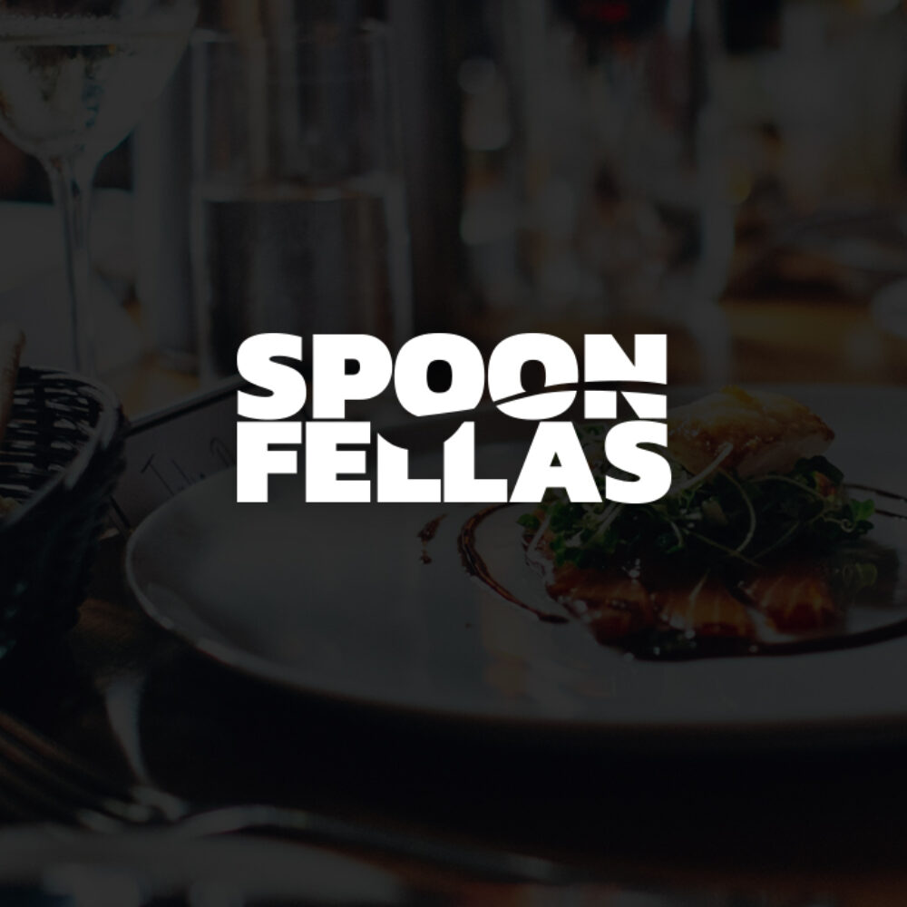 Spoon Fellas Corporate Design Logo Landingpage hochkant