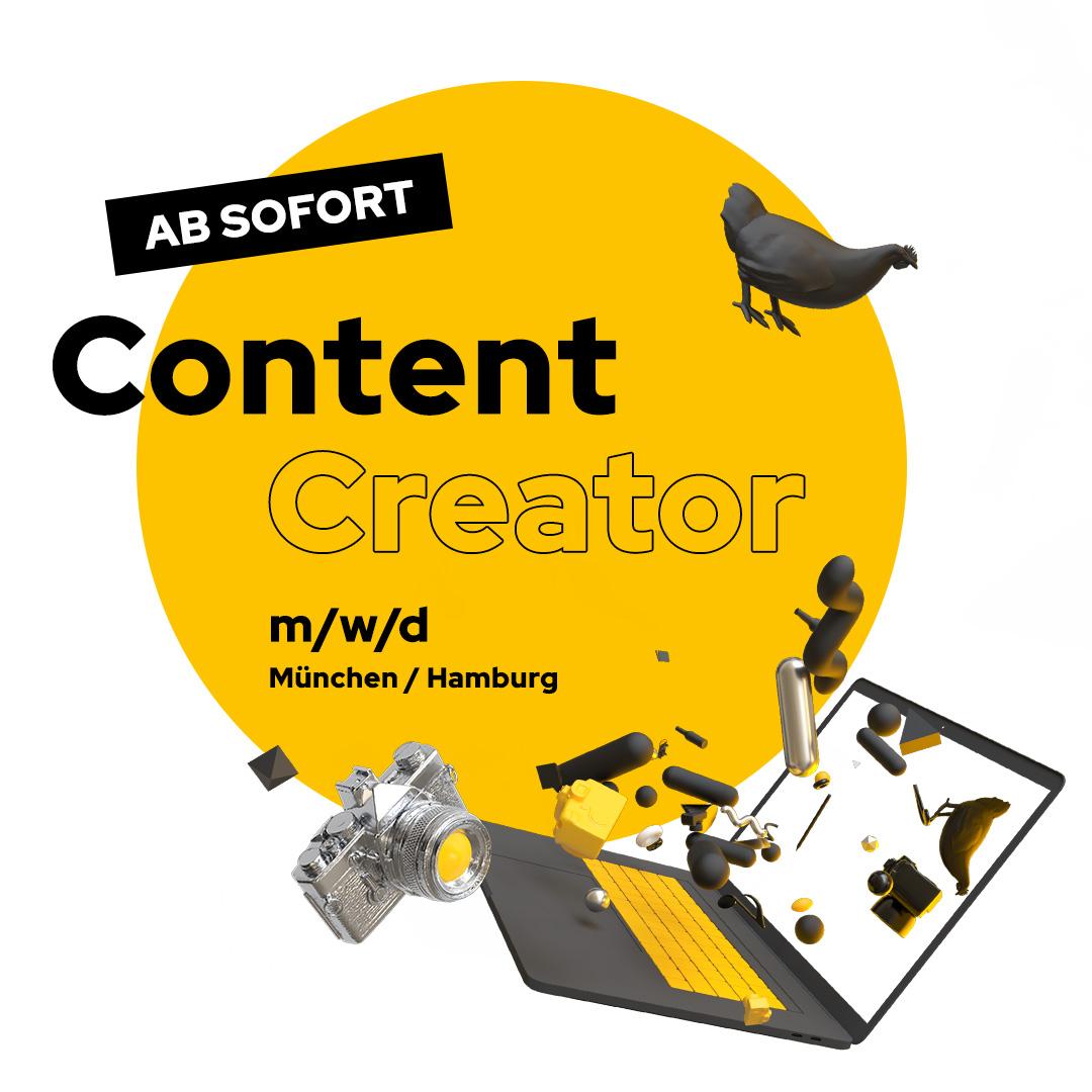 Stellenanzeige Projekt Manager und Content Creator