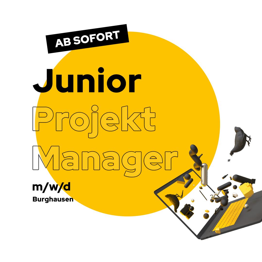 Stellenanzeige Junior Projekt Manager