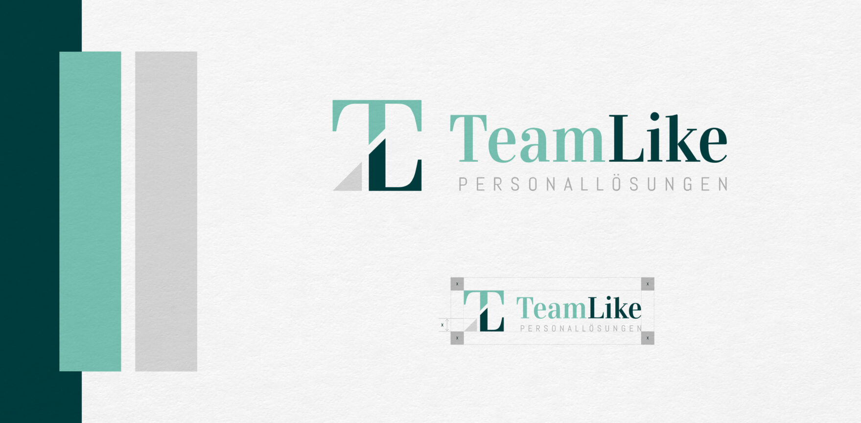 TeamLike Personalloesungen Logo Corporate Design