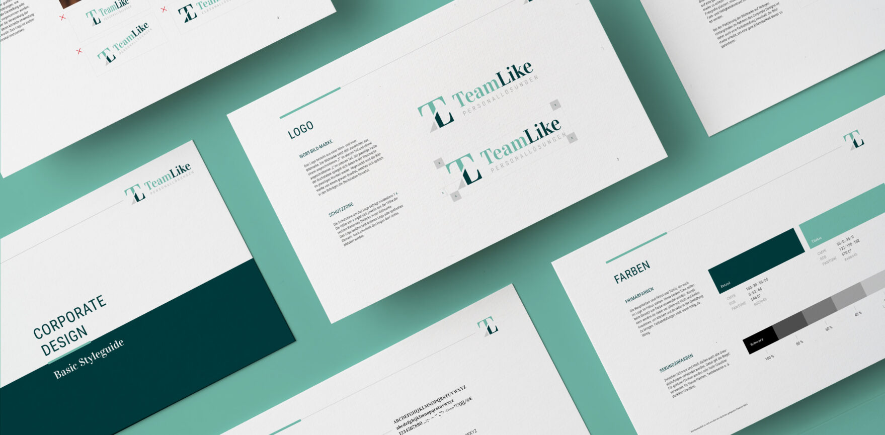 TeamLike Personalloesungen Corporate Design Guide