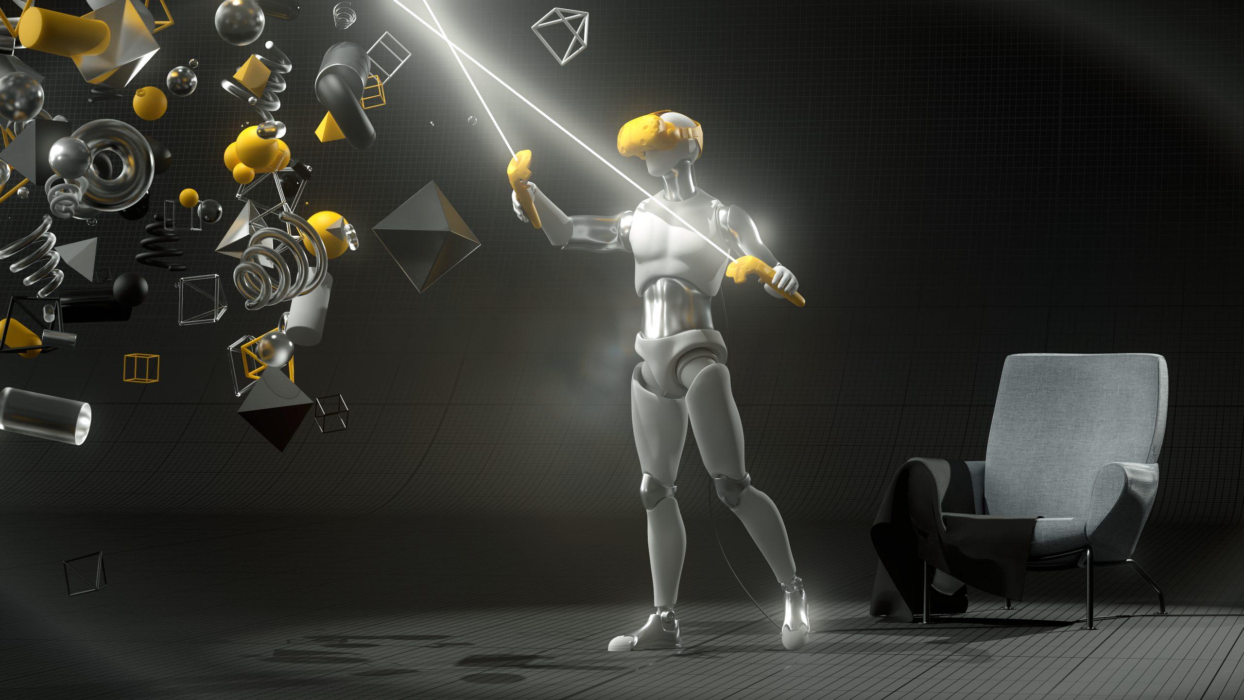 Virtual Reality Darstellung