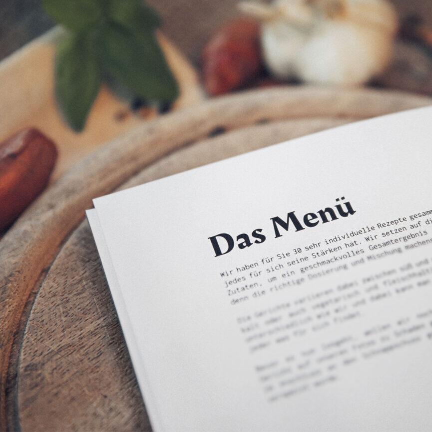 Weder & Noch Kochbuch Intro