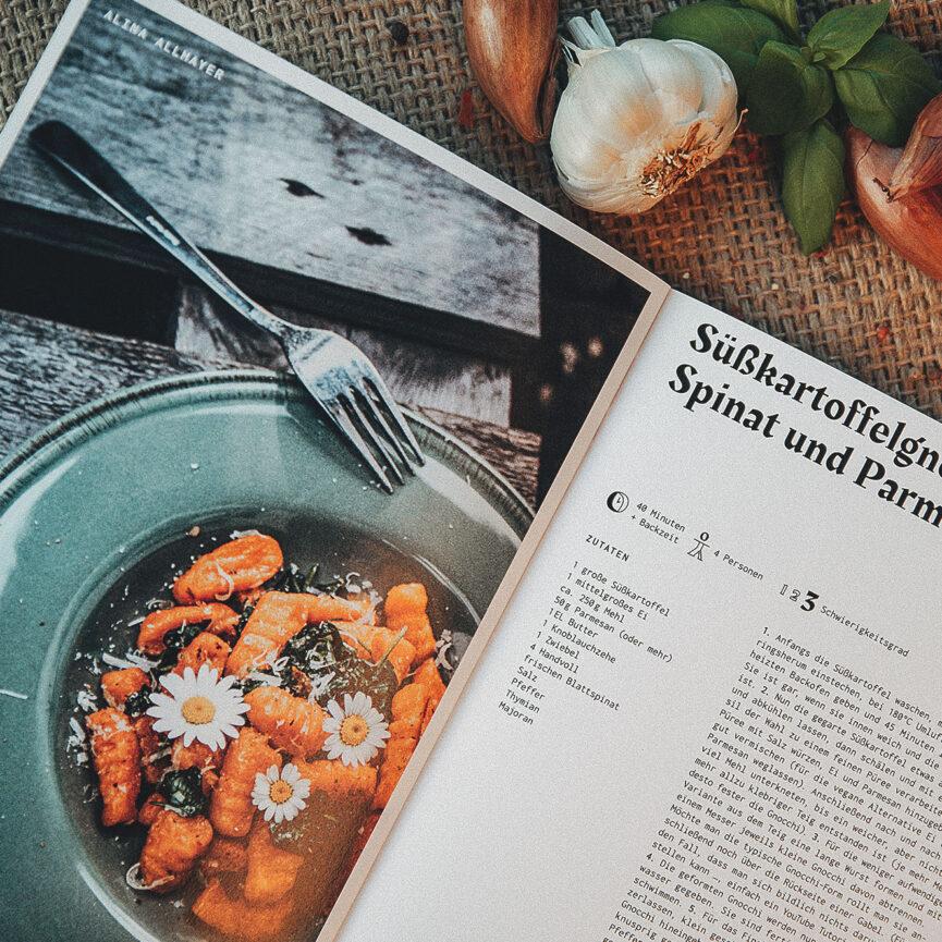 Weder & Noch Kochbuch Rezept Süßkartoffelgnocchi