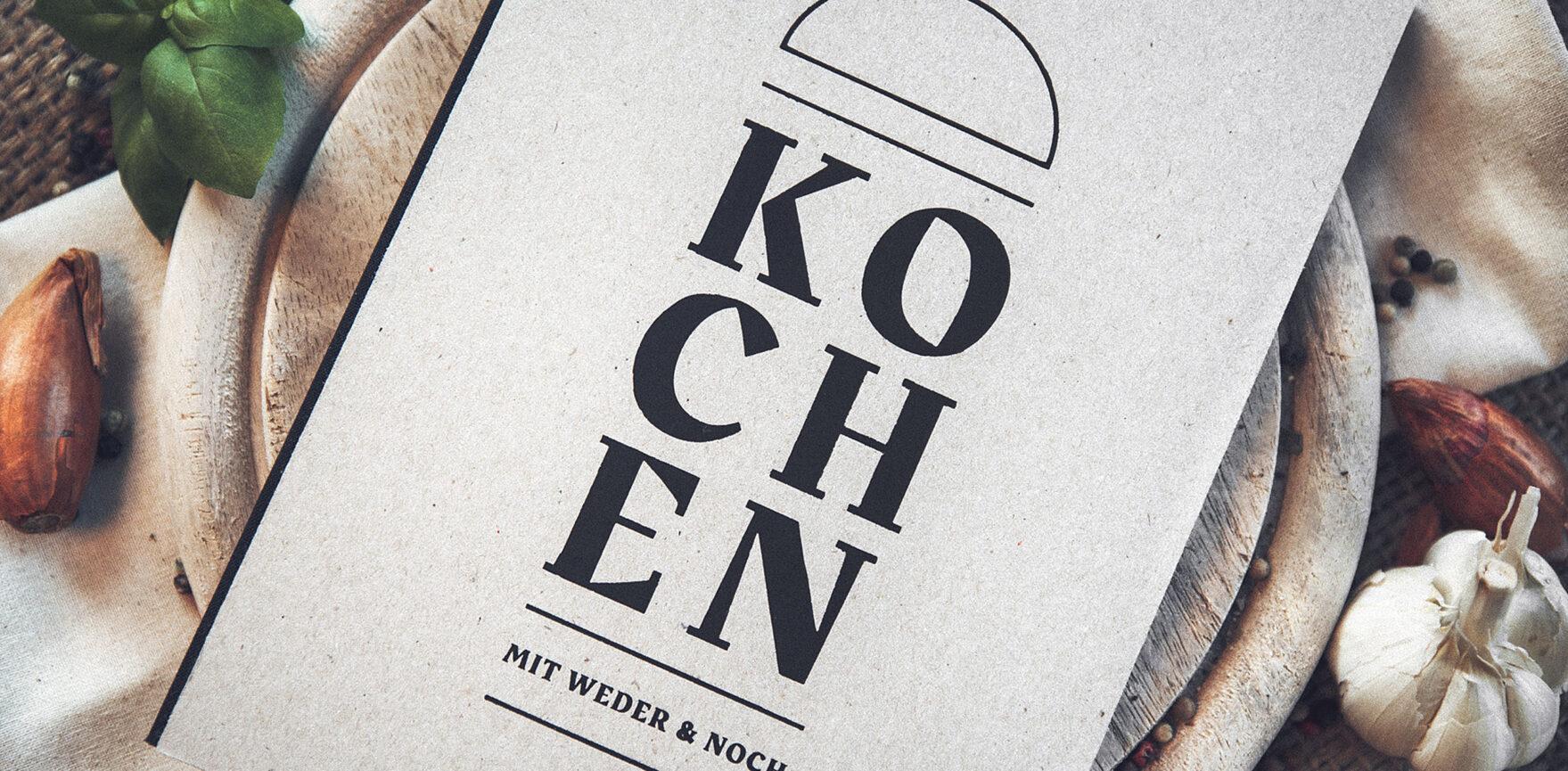 Weder & Noch Kochbuch Titelseite