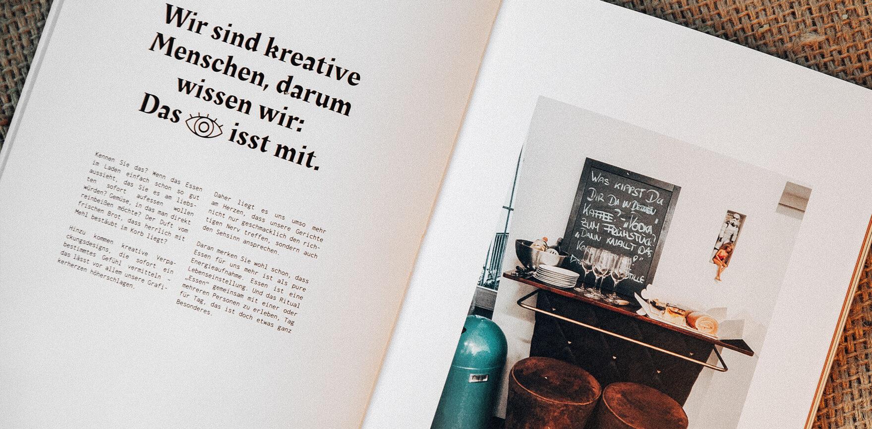 Weder & Noch Kochbuch Editorial