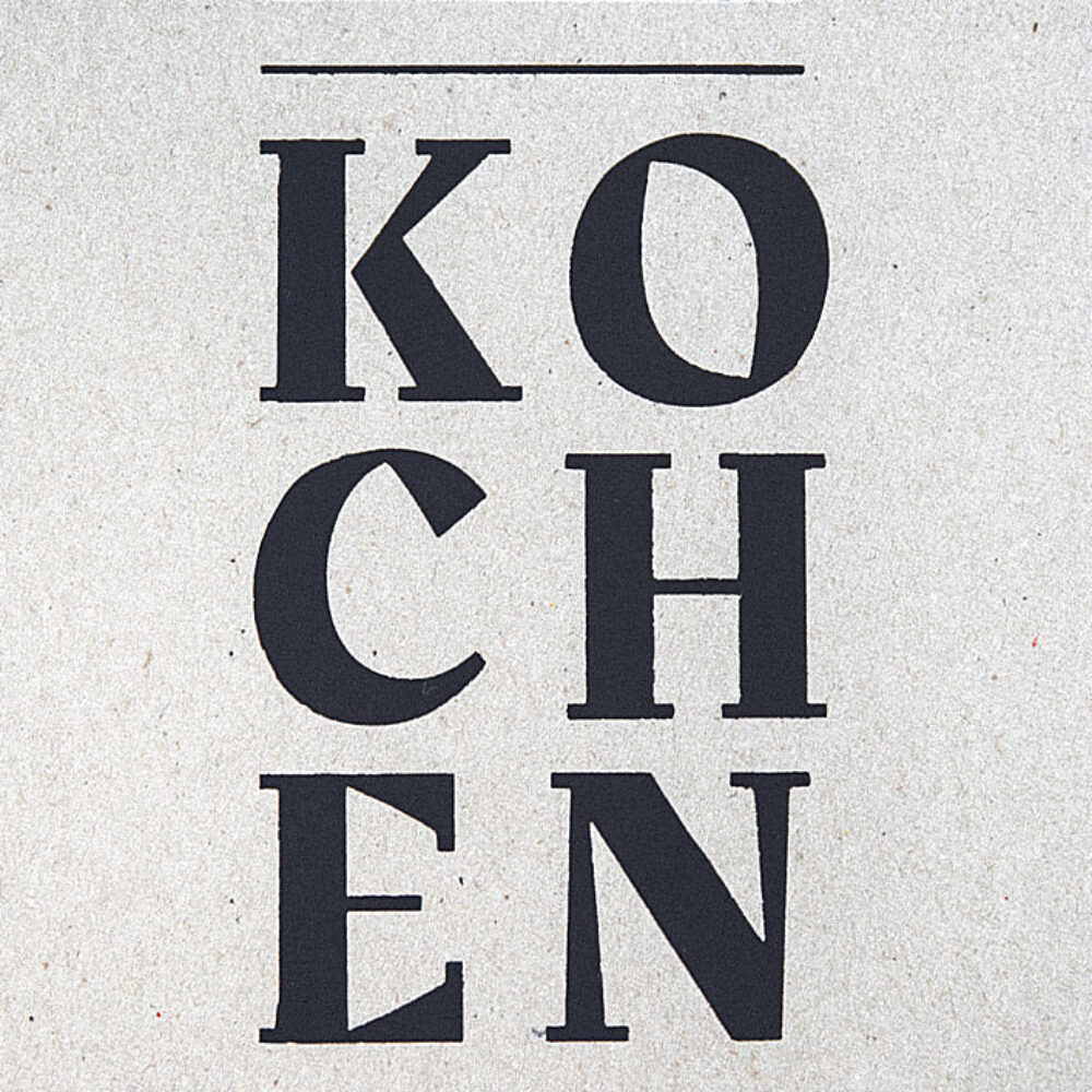 Weder & Noch Kochbuch Titelbild