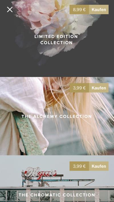 VSCO Foto app text blog bundle