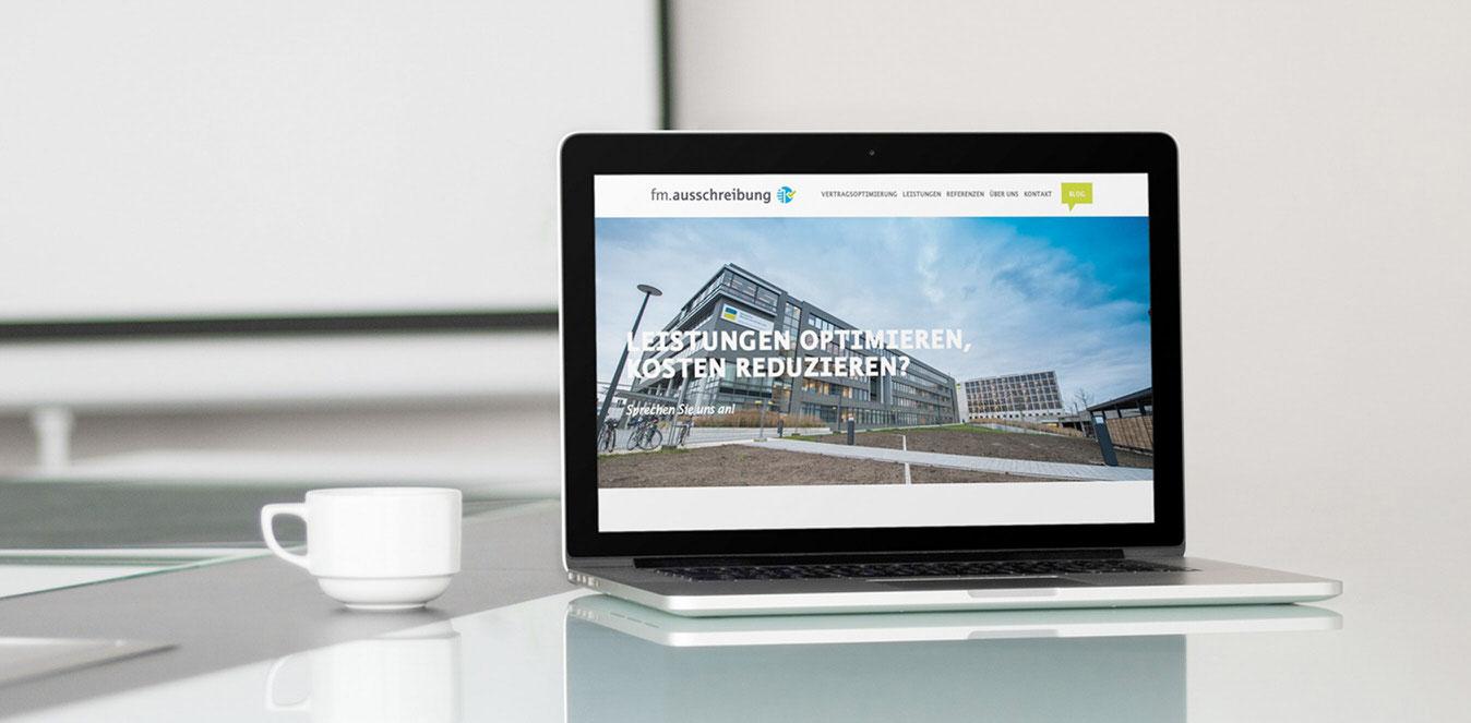 fm ausschreibung website