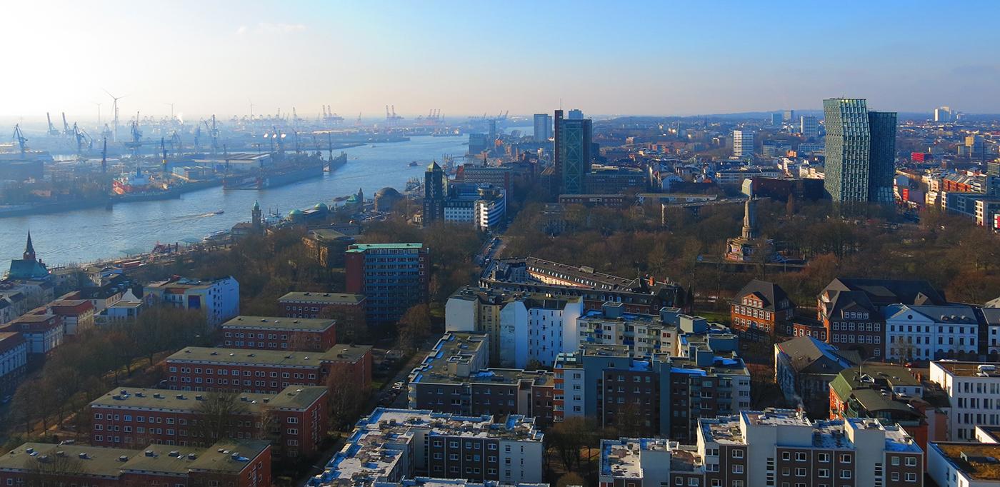 Hafengeschichten Aussicht Hamburg