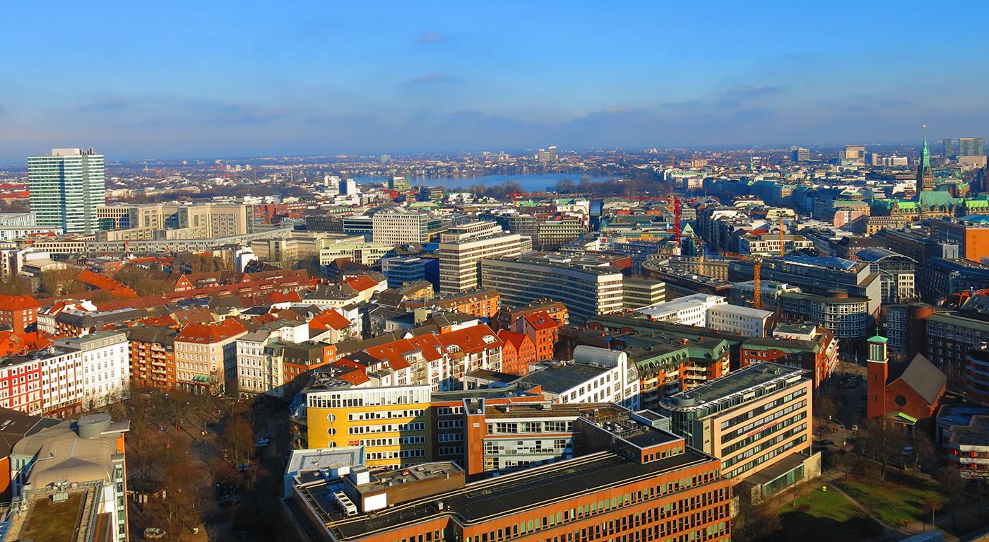 Hafengeschichten Blogbild Aussicht Alster