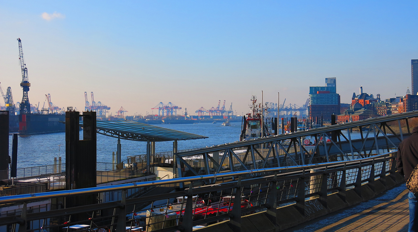 Hafengeschichten Hamburg Hafen Pier