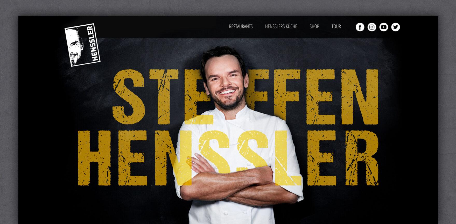 Bannerbild Steffen Henssler Website