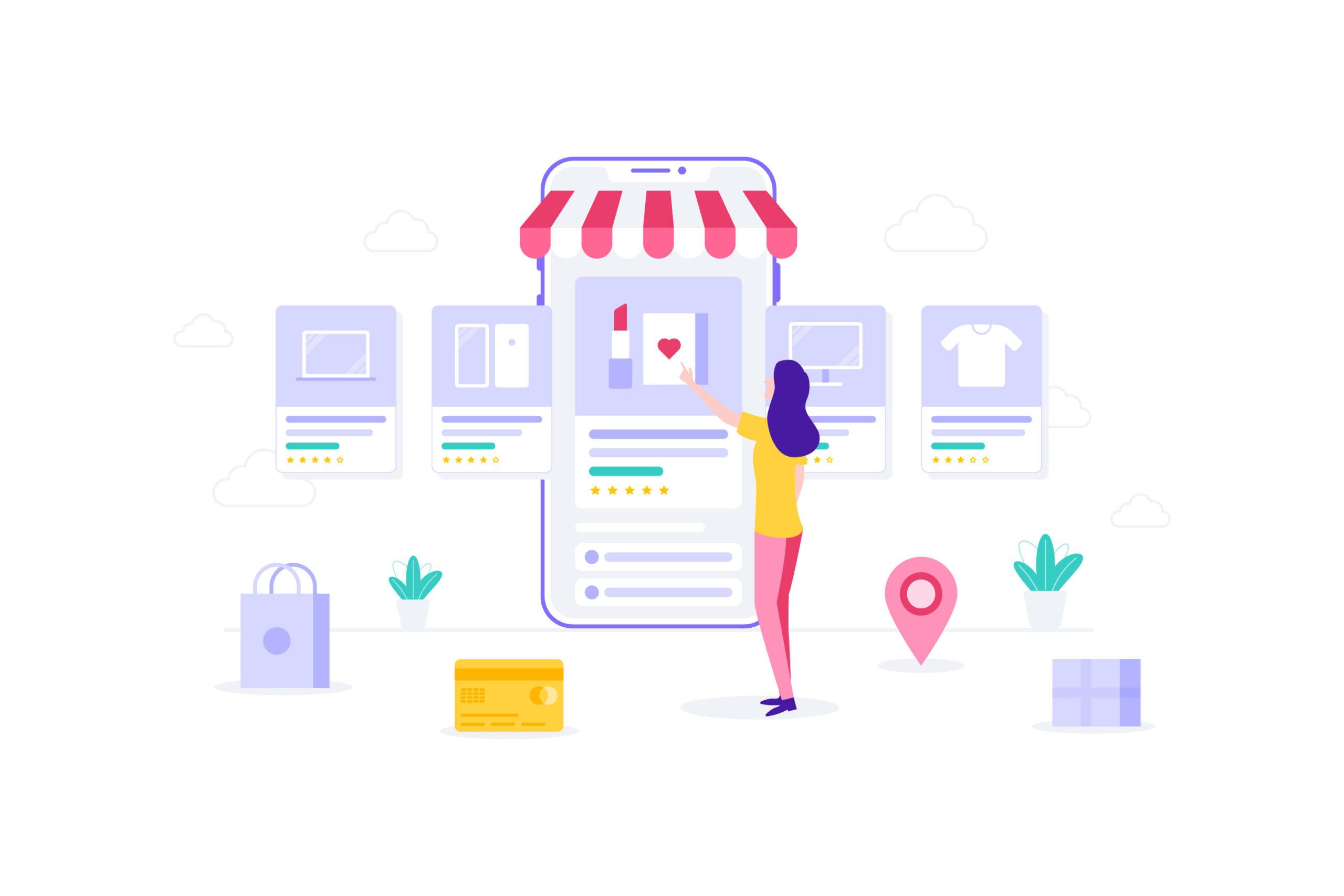 Social Commerce mobiles shoppen