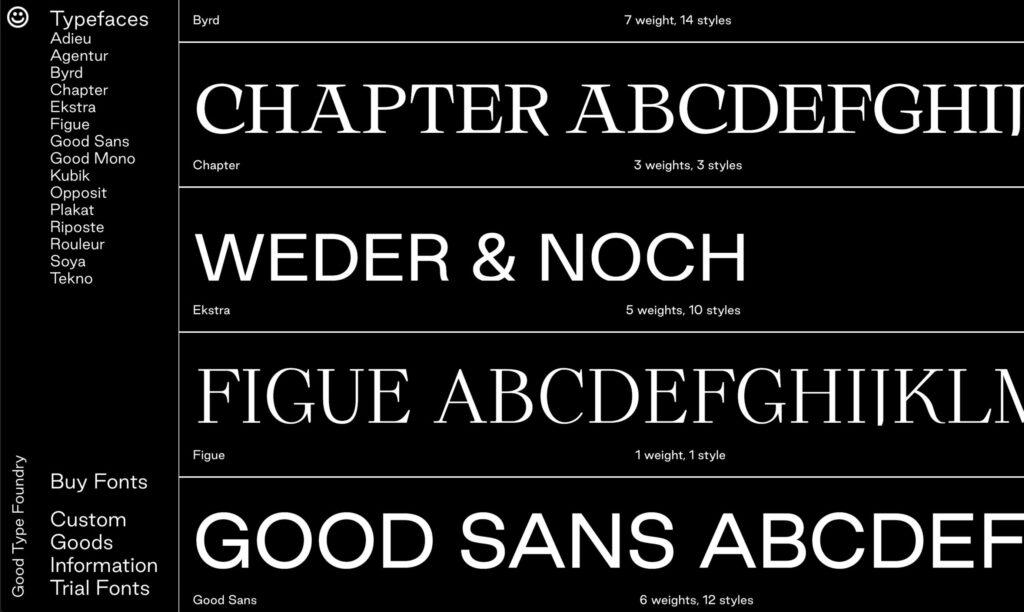 Typografie online