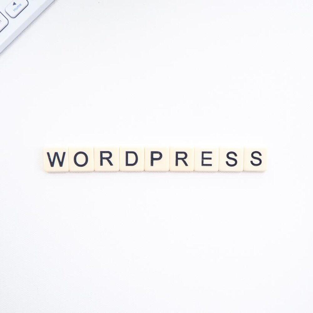 Scrabble Buchstaben WordPress