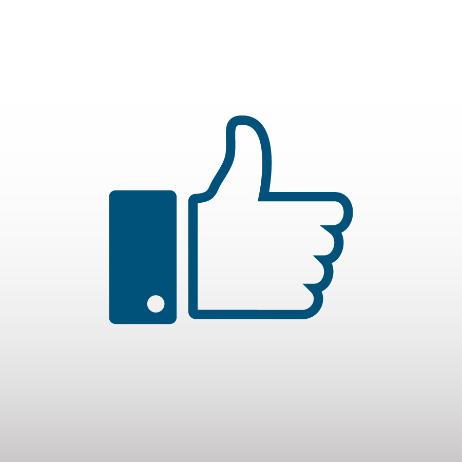 Like Button von Facebook