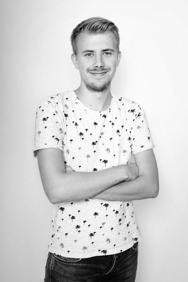 Felix Wohlmannstetter Trainee Webdeveloper Teammitglied Burghausen
