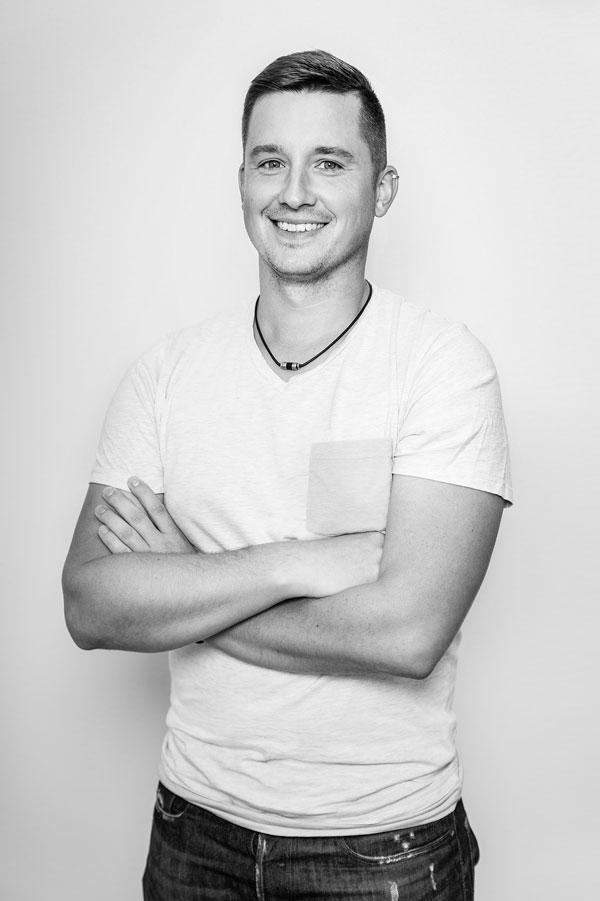 Patrick Fiedorowicz Senior Webdeveloper Teammitglied Standort Burghausen