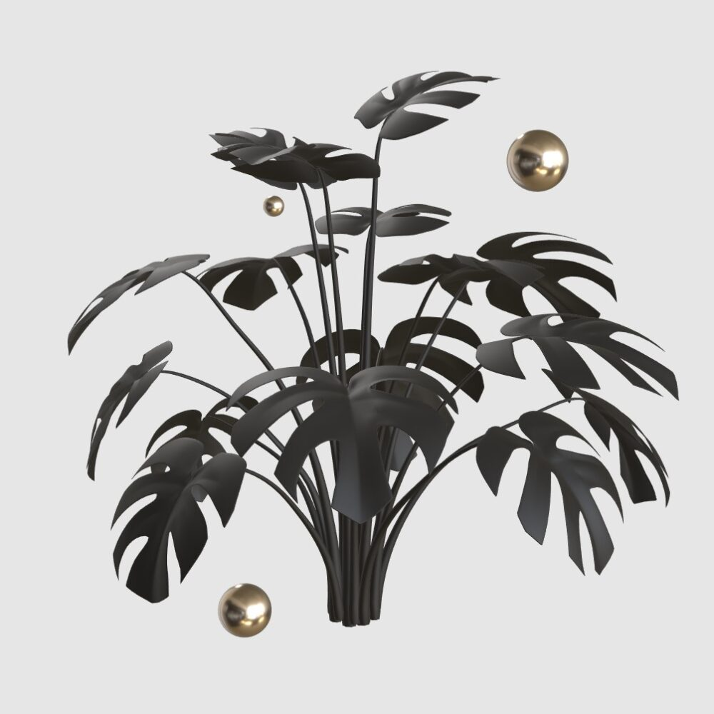 Animierte Pflanze