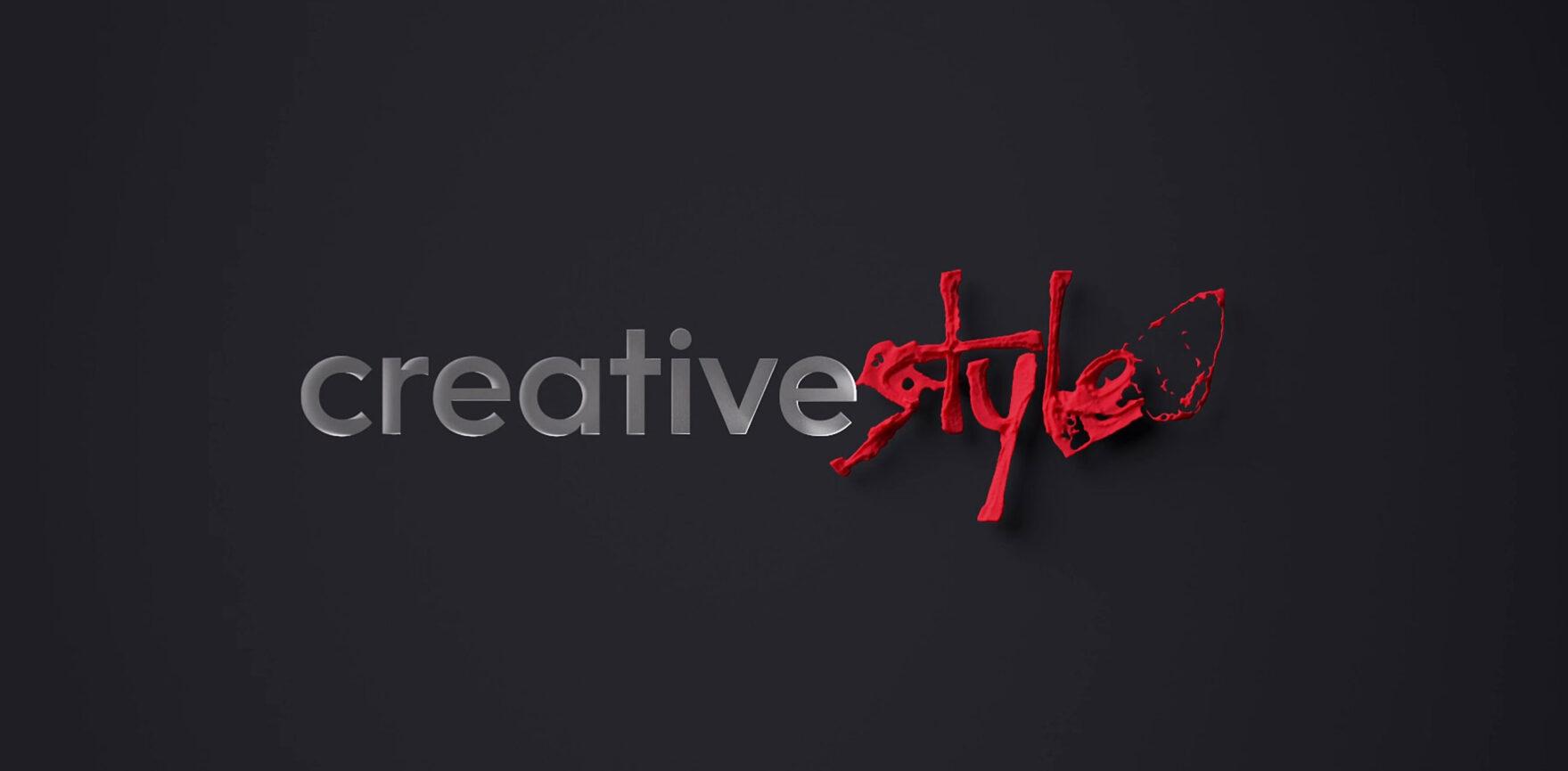 Motion Design 3D Logo creativestyle GmbH